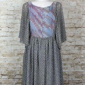 Gorgeous EUC RACHEL Boho Yin Yang Dress